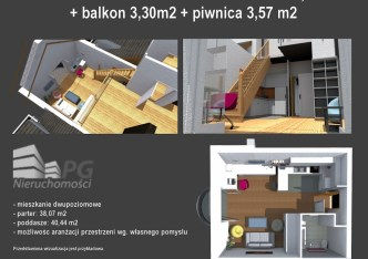 mieszkanie na sprzedaż - Bielsko-Biała, Komorowice Krakowskie